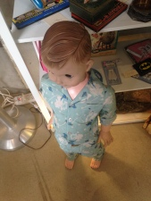 Well, this doll is creepy.