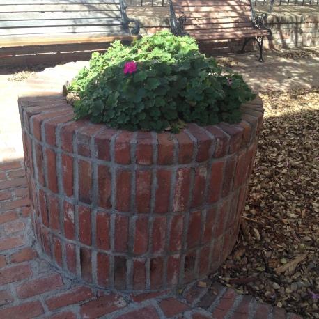 An original well.